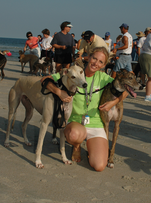 Joanne Johnson Greenville Adoption Rep Greyhound Crossroads