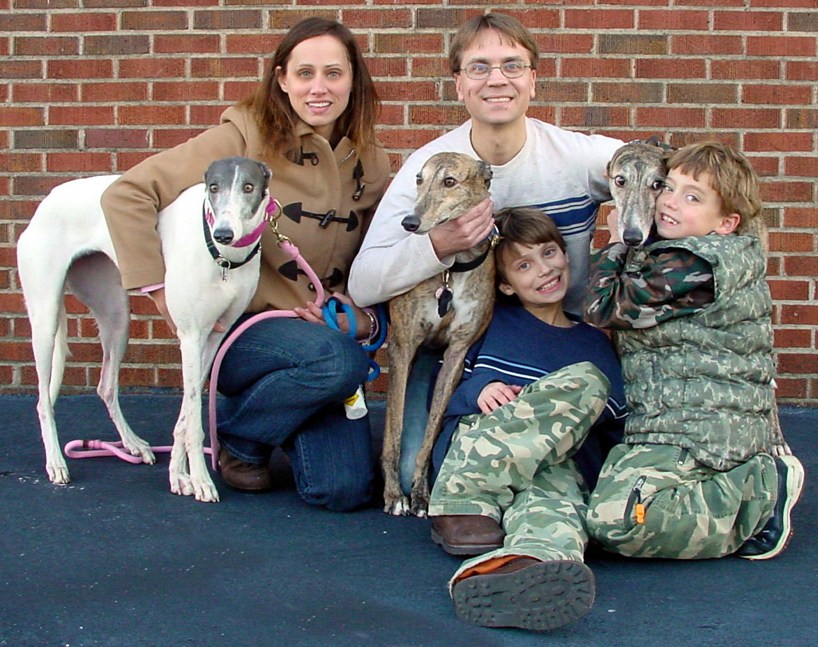 Greyhound Crossroads Family Adoption